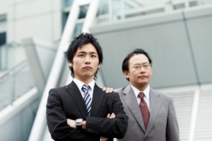 Gay japanese businessmen