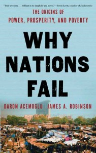 Wondering why nations fail bring your questions for daron acemoglu and james robinson - Freakonomics table of contents ...
