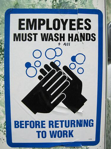 Bathroom Signs Wash Hands wash hands sign